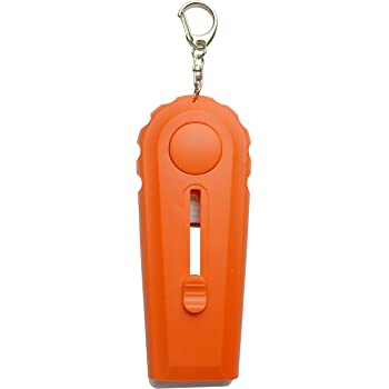 HapWay Cap Zappa Beer Bottle Opener and Cap Launcher Shoots with Key Ring for Fun (Orange)