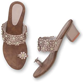 FINE FASHION Comfortable Casual Flats Sandal for Women and Girls