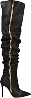 GIUSEPPE ZANOTTI DESIGN Luxury Fashion Womens ORE9702001 Black Boots  