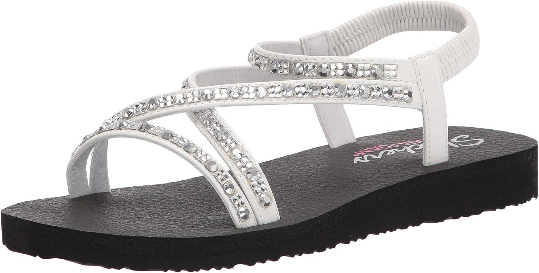 Skechers Cali Fees free!! Women's Now on sale Multi-Strap Flat Sandal