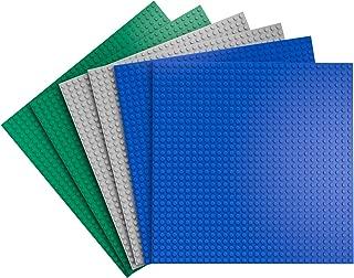 Zooawa Building Blocks Base Plates, [6 Pack] 10