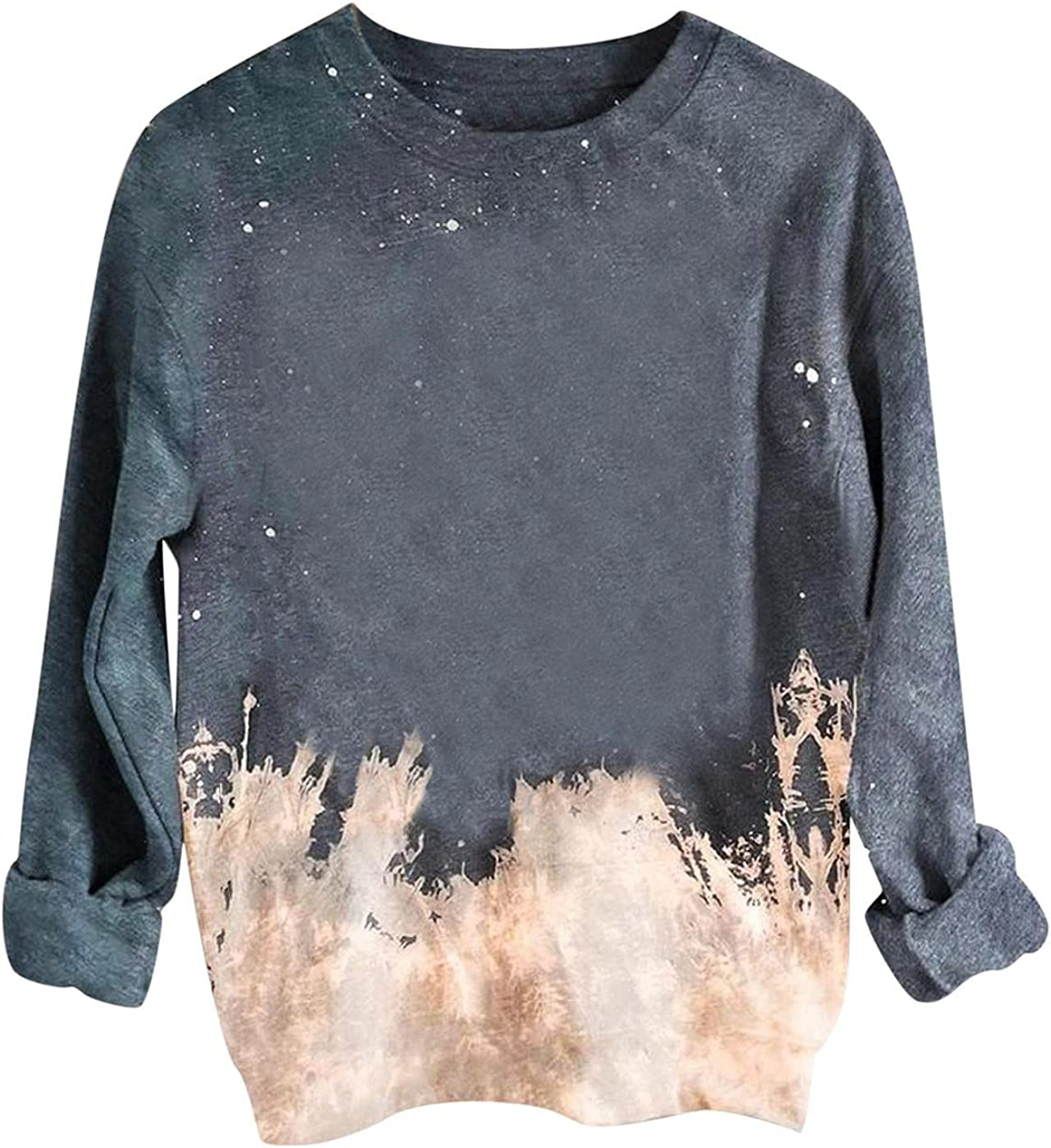 Halloween Brand new Sweatshirt for Women Shirts Tie Dye sale Reverse Tops Rainb