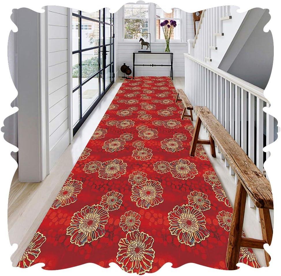 LIXIONG Hallway Runner Safety and trust Rug 3D Indoor Carpet Floor Rapid rise Ai Bedside Mat