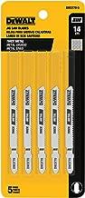 DEWALT DW3770-5 3-Inch 14 TPI Thick Metal Cut Cobalt Steel T-Shank Jig Saw Blade (5-Pack)