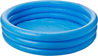 Crystal Blue Inflatable Pool