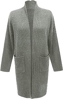 Winter Women Fashion Long Sleeve Soft Chunky Knit Sweater Open Front Cardigan Outwear