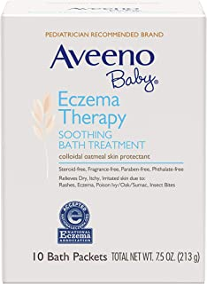 Aveeno Baby Eczema Therapy Soothing Bath Treatment for Relief of Dry, Itchy and Irritated Skin, Made with Soothing Natural...