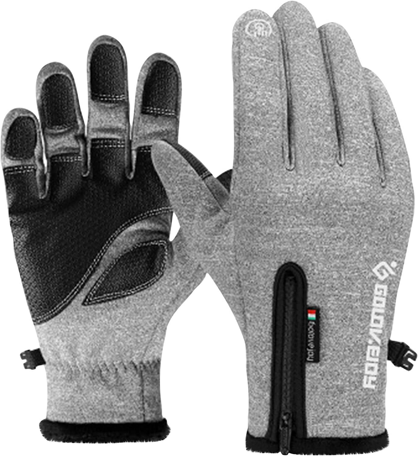 Winter Gloves Waterproof Cycling Sports Gloves Outdoor Winter Warm Snowboard Gloves Cold Weather Workout Training