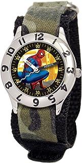 Marvel Kid's MA0103-D2787-Camo Marvel Spider-Man Classic Time Teacher Watch