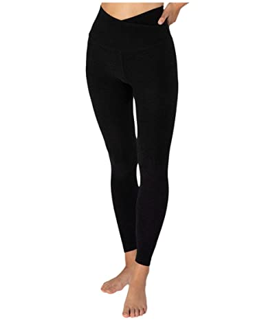 Beyond Yoga Spacedye At Your Leisure High Waisted Midi Leggings (Darkest Night) Women