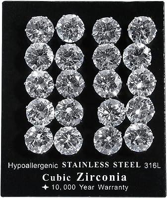 Akzent - Orecchini pendenti da donna, acciaio inossidabile, cod. 004250000077