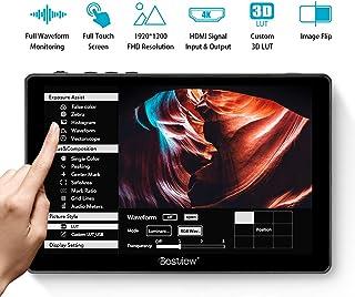 Desview R7 Monitor de Campo 7 Pulgadas Touchscreen DSLR-Monitor-Externo-Reflex-4K HDMI Entrada/Salida 1100nit 1920 * 1200 con 3D LUT Compatible con Cámaras Canon Sony Nikon Panasonic Fujifilm