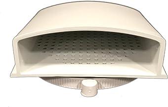 "BUD Industries IPV-1116 IP32 Air Vent, 3.9"" x 3.9"""