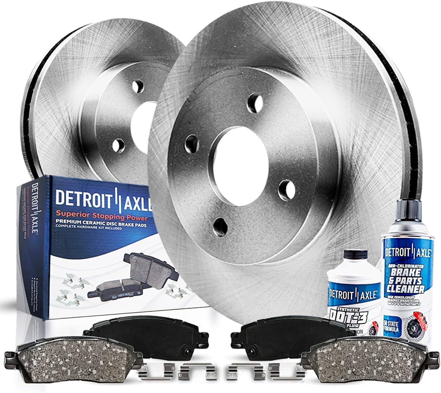 Front Disc Brake Kit Rotors 受注生産品 F Pads Cleaner クリアランスsale!期間限定! w Ceramic