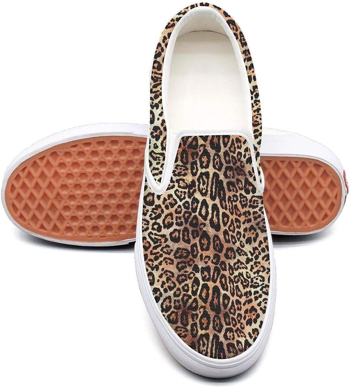 VXCVF Leopard Cheetah Print Retro Brown Woman Casual shoes Fashion shoefor Womens