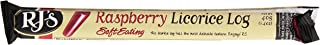 RJ's - Soft Eating Natural Licorice Log Raspberry - 1.4 oz.