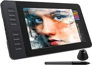 GAOMON液タブPD1161 11.6インチIPS HDデジタルイラスト液晶ペンタブレット 傾き検知付き 8つショートカットキーと8192レベル筆圧の電池不要ペン搭載ペンディスプレイ macOS/Windows対応