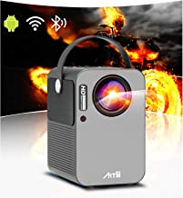 $239 » Portable Projector - Artlii Play Android TV 9.0 Smart WiFi Bluetooth Projector, ±45°4D Keystone Correction, HiFi Dolby Ste...
