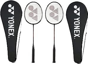 Yonex GR 303 Aluminium Blend Badminton Racquet with Full Cover, Set of 2