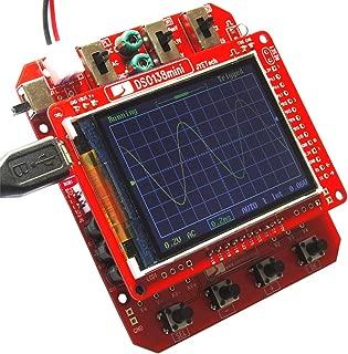 Oscilloscope Kit, KKmoon Mini Digital Oscilloscope DIY Kit JYE Tech DSO138 SMD Parts Pre-soldered Electronic Learning Set 1MSa/s 0-200KHz