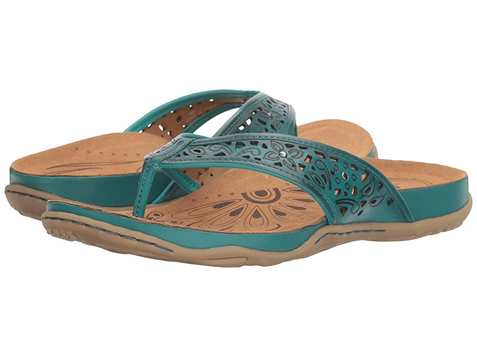 Earth Maya (Teal Soft Leather) Women