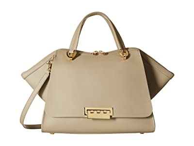 ZAC Zac Posen Eartha Iconic Jumbo Double Handle (Beige) Satchel Handbags
