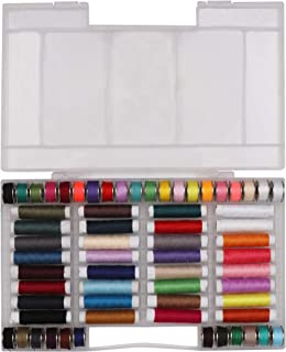 comprar comparacion Hilo de Coser de Poliéster (64 Paquete) - Hilos de coser de Colores Surtidos - 32 Bobinas y 32 Carretes para Coser a Mano ...