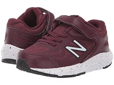 New Balance Kids 519v1 (Infant/Toddler) (NB Burgundy/Black) Boys Shoes