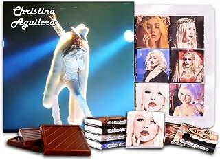 DA CHOCOLATE Candy Souvenir CHRISTINA AGUILERA Chocolate Gift Set 5x5in 1 box (Concert)