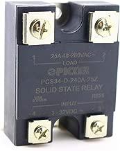 UL Rated 48-280 VAC Zero Crossing PCS15-D-240A-40ZL 4-32 VDC Input Hockey Puck Solid State Relay with LED 40 Amp Cross: Carlo Gavazzi RM1A23D25; Crouzet 84134910; Panasonic AQA611VL