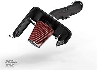 K&N Cold Air Intake Kit: High Performance, Guaranteed to Increase Horsepower:  2012-2019 Toyota Tundra 5.7L V8,63-9036