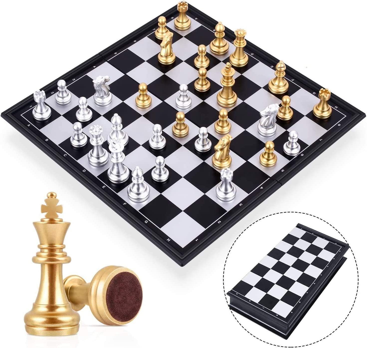 DengKe Travel Chess Board Set Magnetic Our shop OFFers the best Deluxe service with - Games Piece