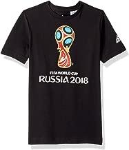 adidas Boys Soccer World Cup Emblem Tee