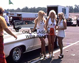 OnlyClassics 1974 Hurst Girls Sexy Blonde Linda Vaughn Photo Drag AUTO Racing OLDS PACE CAR