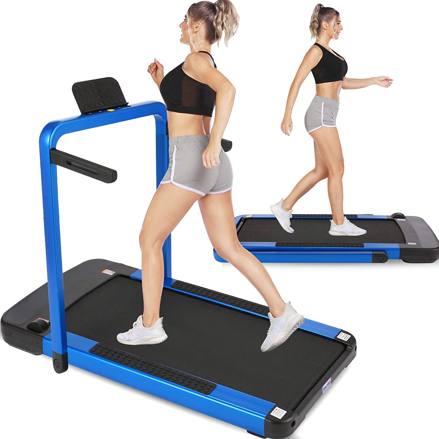 ANCHEER 2 in 1 Folding Treadmill for T Under Daily bargain 5% OFF sale Electric Home Desk
