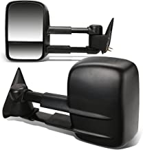 DNA MOTORING TWM-001-T222-BK Pair Of Towing Side Mirrors, Driver and Passenger Sides