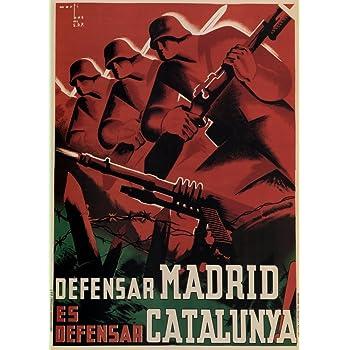 Vintage Guerra Civil Española 1936 – 39 Propaganda defensa de ...