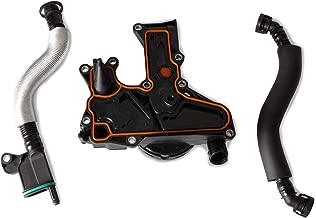 Tepeng Engine Crankcase Vent Valve PCV Valve Oil Separator with Hose Kit 06H103495 for Audi A3 A4 A5 Q5 TT/VW Passat Tiguan CC JETA GTI Beetle