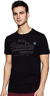 Superdry Men's Vintage Logo Monochrome T-Shirt, Black