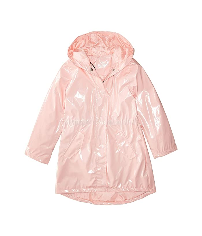 Urban Republic Kids Raincoat Patent Faux Leather Anorak Jacket (Little Kids/Big Kids)