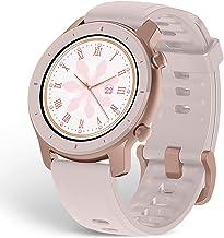 ساعت هوشمند Amazfit GTR با GPS GLONASS ، مانیتور ضربان قلب تمام روز ، ردیابی فعالیت روزانه ، عمر باتری 10 روزه ، حالت های ورزشی 12- ، 42 میلی متر ، صورتی شکوفه گیلاس