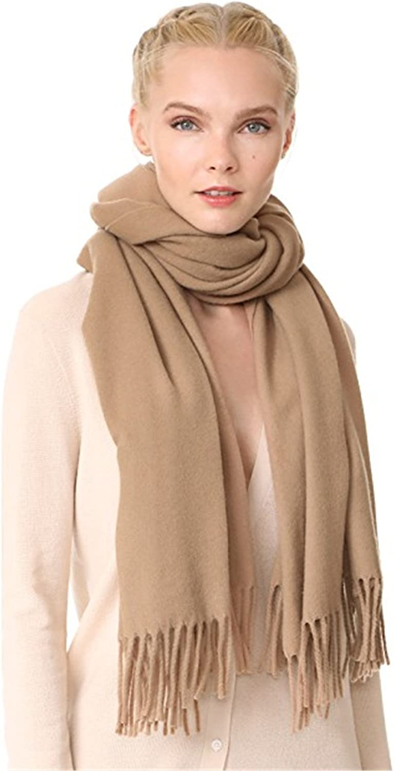 Women 100% Cashmere Scarf & Shawl  Oversized Cozy Soft and Stylish;78  X 28