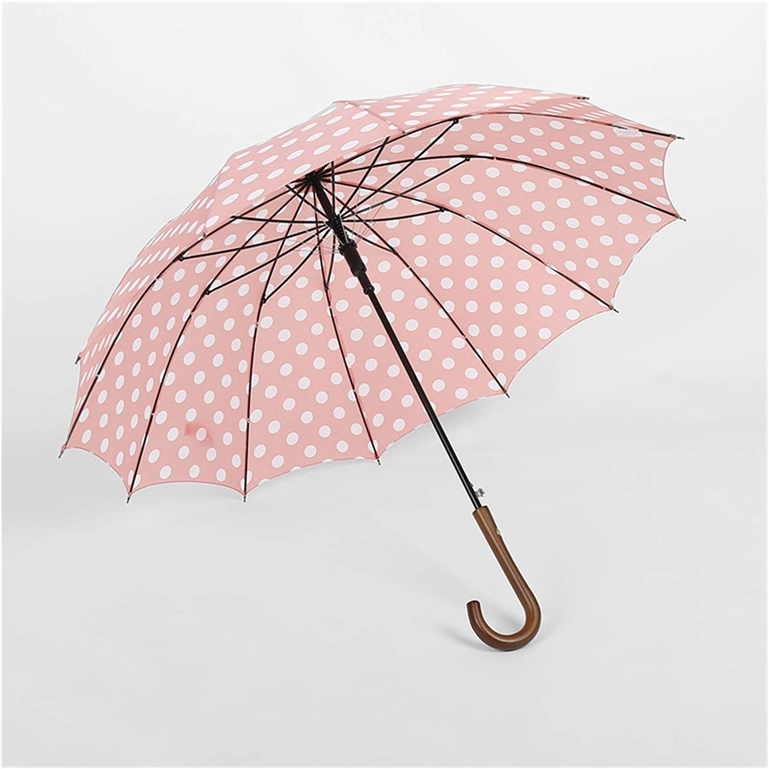 2021 spring and summer new YXIUER Rain Lowest price challenge Sun Women 16-Bone Curved Creative Handle Parasol