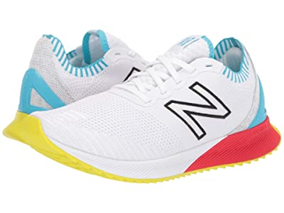 New Balance Fuelcell Echo (White/Bayside/Energy Red Engineered Knit) Men