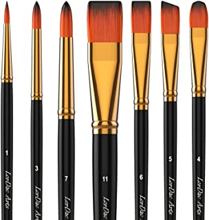 Dynamic 3pcs Wooden Stencil Brush Hog Bristle Brushes Acrylic Watercolor Oil Painting For Child Painter Paint Brushes Painting Supplies