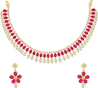 4c25fbd909393 American Diamond Women's Jewellery Sets: Buy American Diamond ...