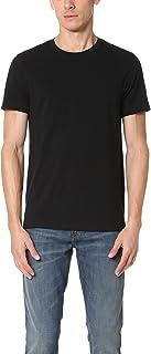Vince Men's Favorite Pima Cotton Short-Sleeve Crew-Neck T-Shirt, Black, X-Large
