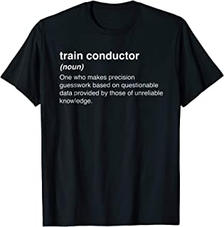 train conductor t shirt