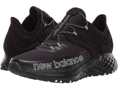 New Balance Kids Fresh Foam Roav Trail (Little Kid) (Black/White) Boy