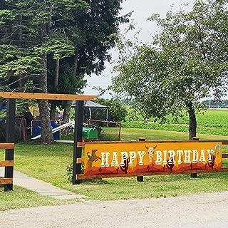 happy birthday western style